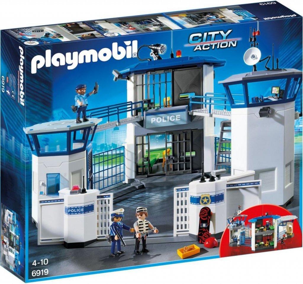 PLAYMOBIL ® 6919 Policejní centrála s vězením