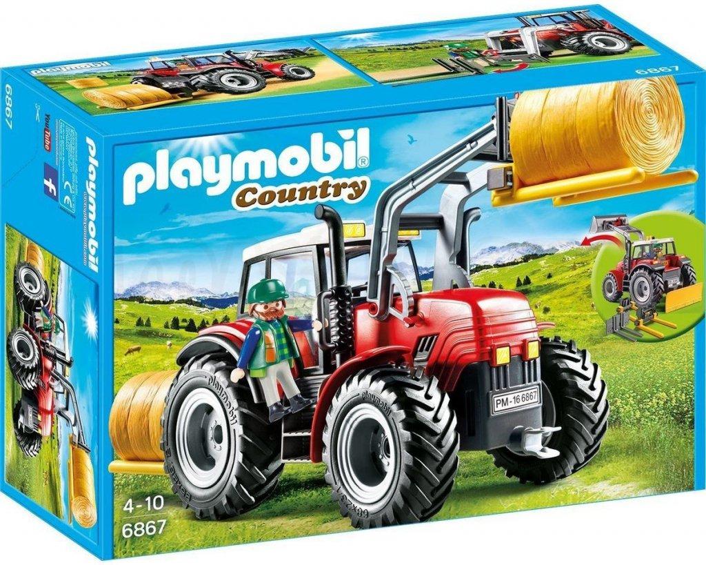 Playmobil 6867 Traktor se speciálním nářadí