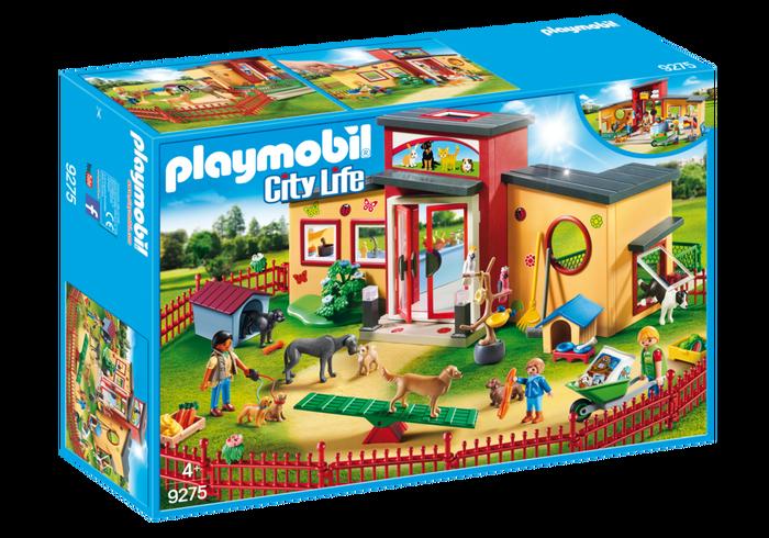 PLAYMOBIL® 9275 Zvířecí hotel Tlapka