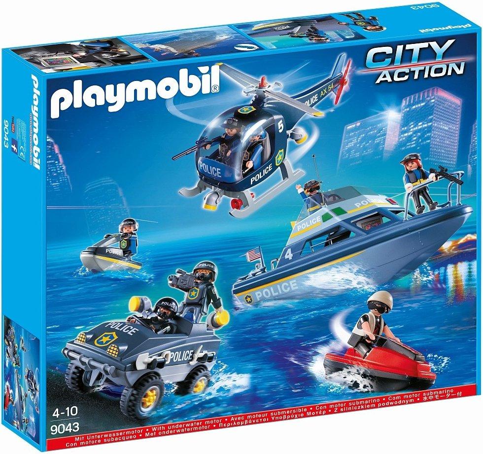 PLAYMOBIL® 9043 Velký policejní set
