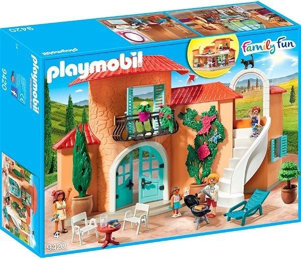 PLAYMOBIL ® 9420 letní prázdninová vila
