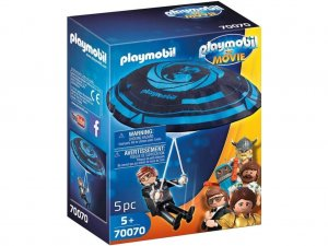 PLAYMOBIL 70070 THE MOVIE Rex Dasher s padákem