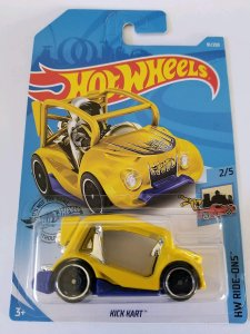 Hot Wheels 2/5 HW RIDE-ONS Kick Kart