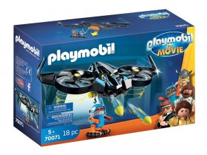 PLAYMOBIL 70071 THE MOVIE Robotitron s dronem