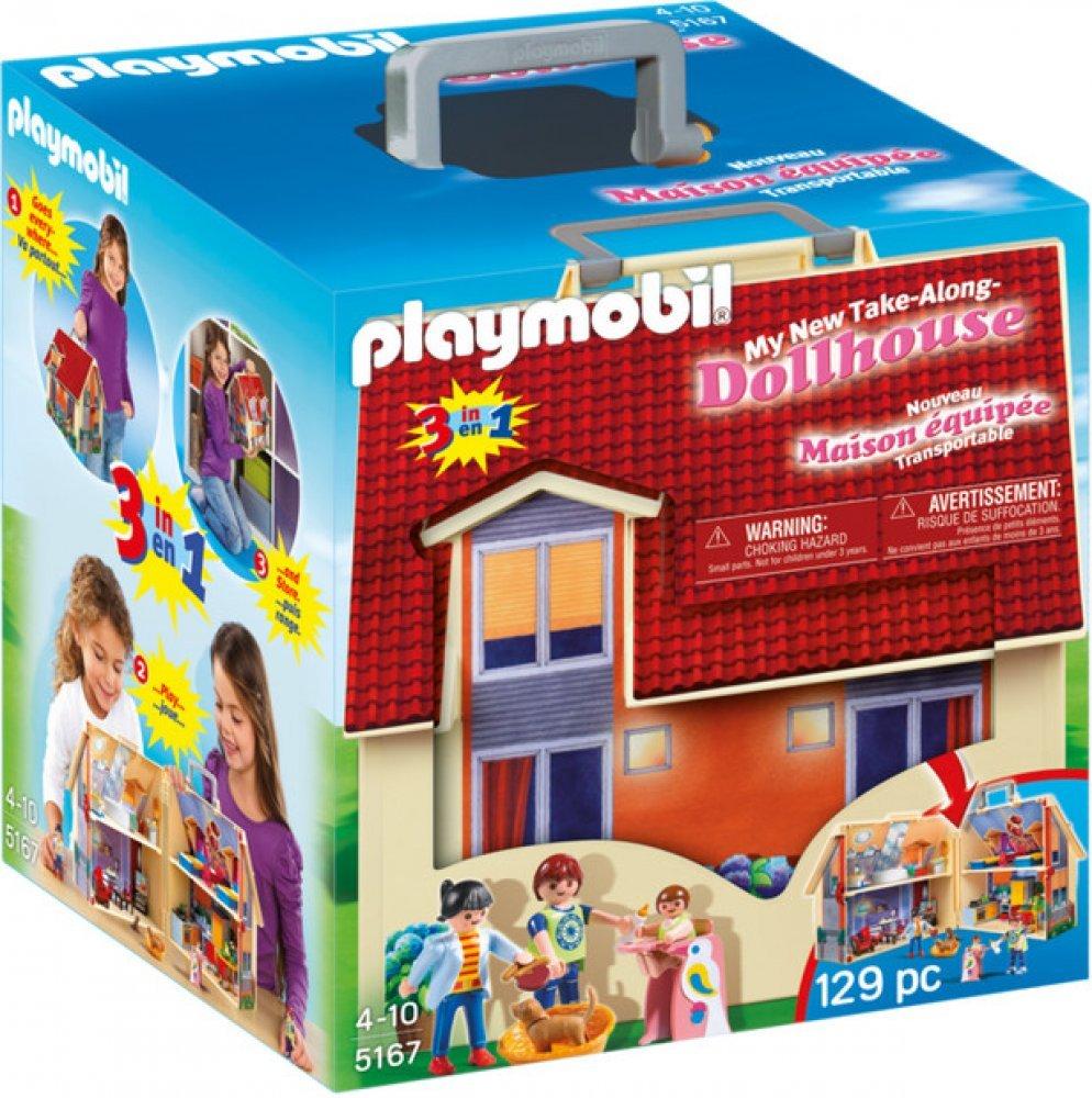 PLAYMOBIL ® 5167 Přenosný domek pro panenky