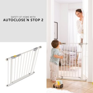 Hauck Autoclose´n Stop Safety 2020 zábrana white